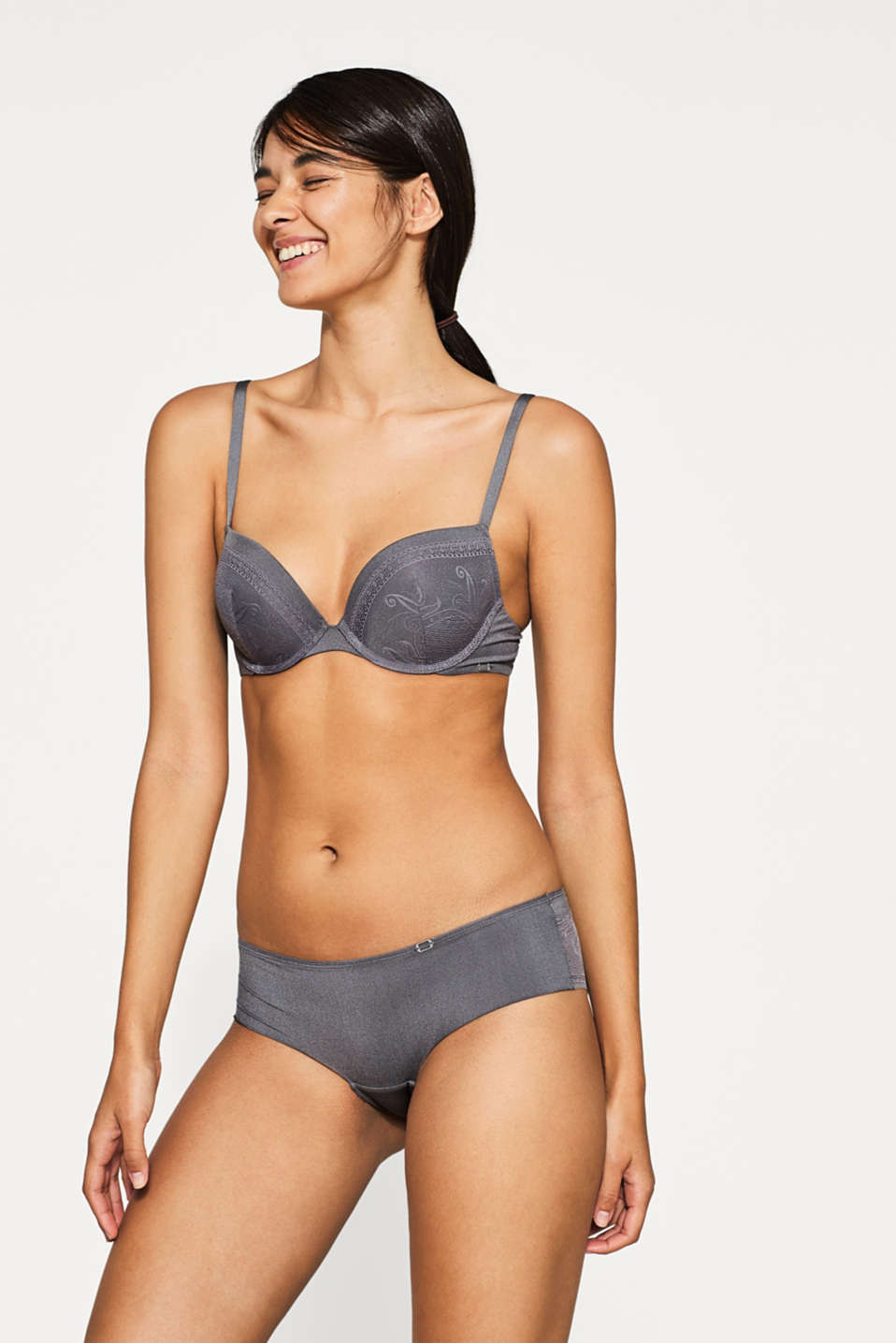 Esprit - NYE push-up bra in filigree lace