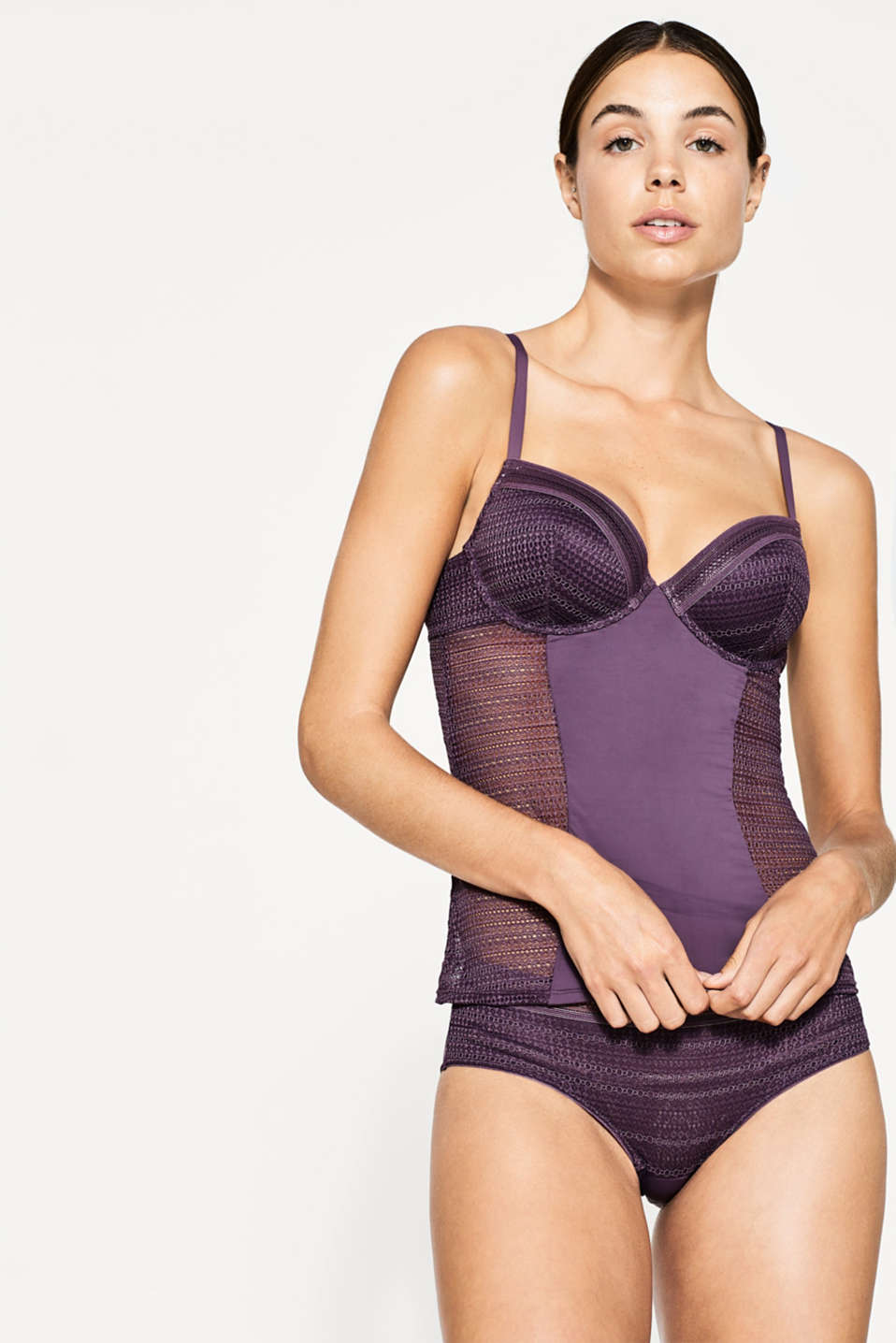 Esprit - NYE camisole with padded underwire cups