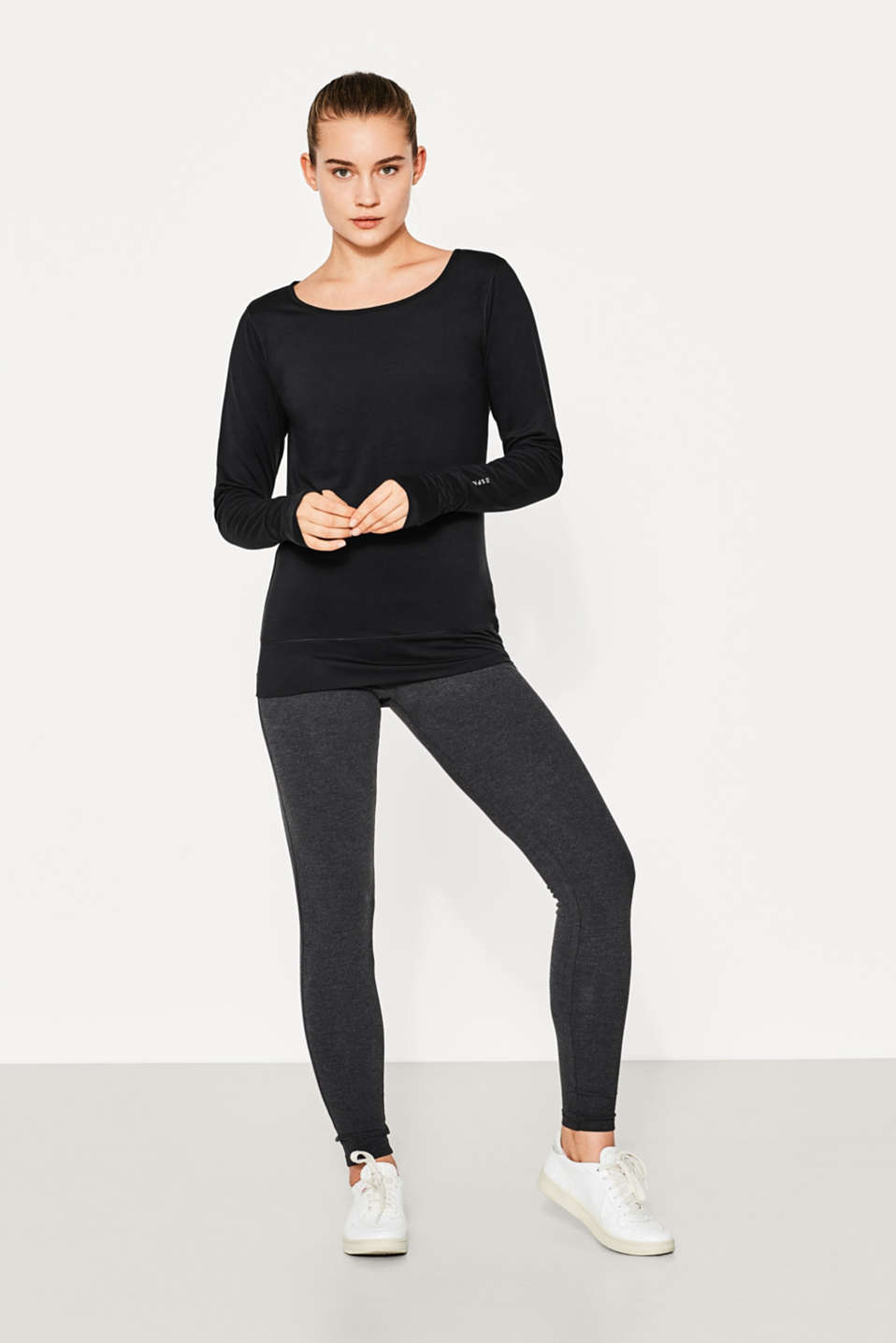 Active-Longsleeve mit E-DRY