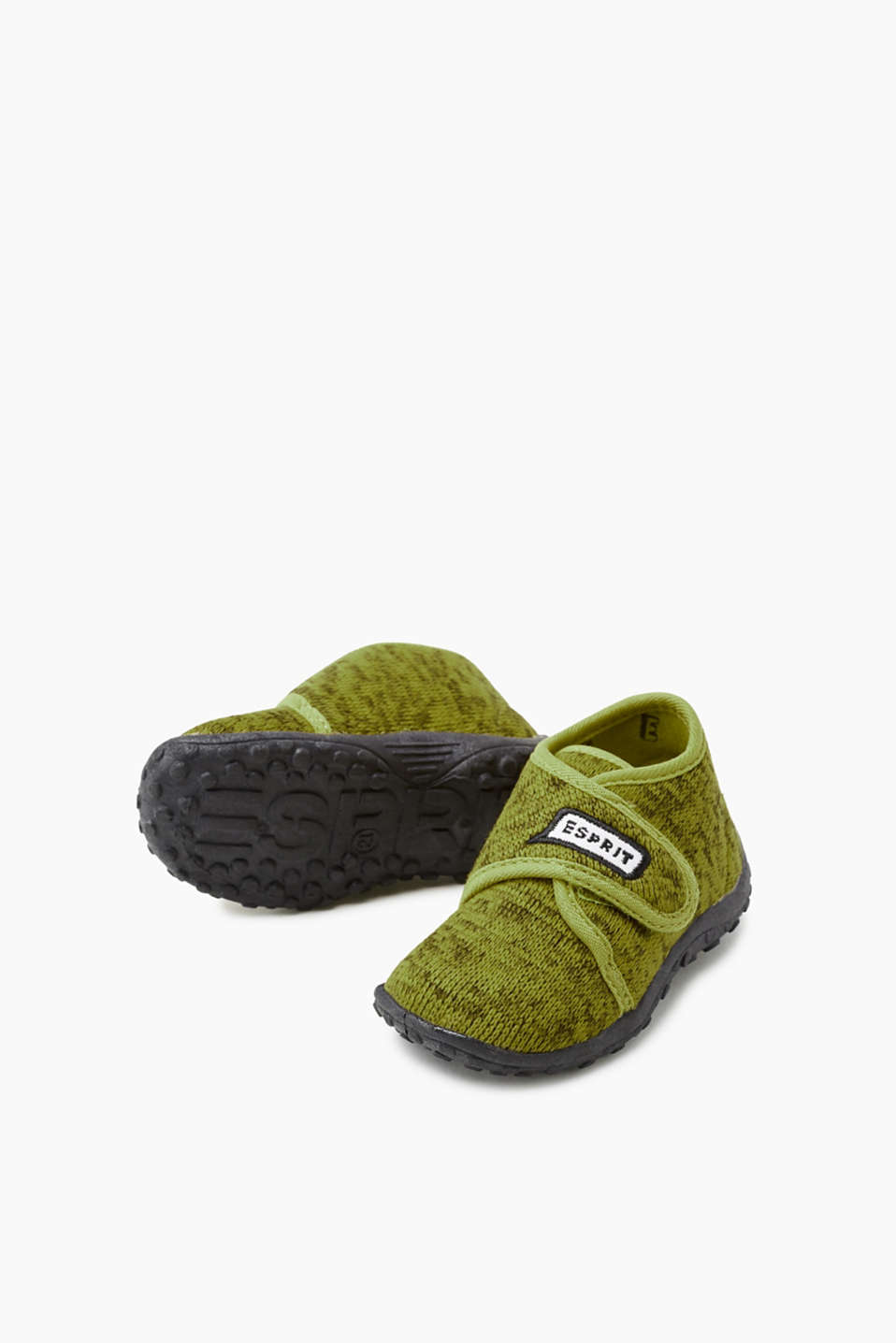 Slippers with Velcro fasteners
