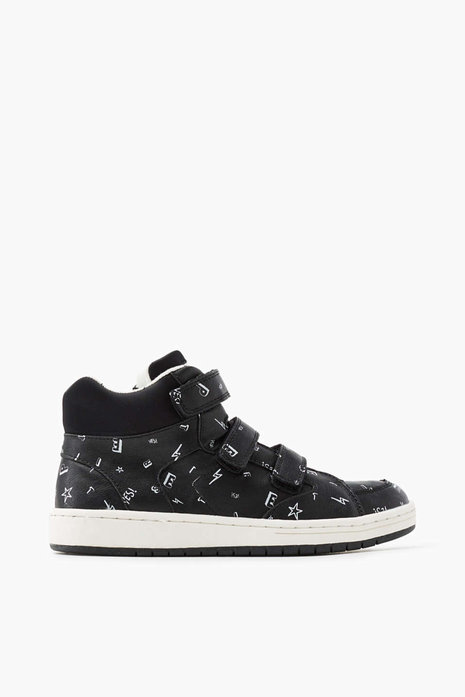 Esprit - High Top-Sneaker in Leder-Optik