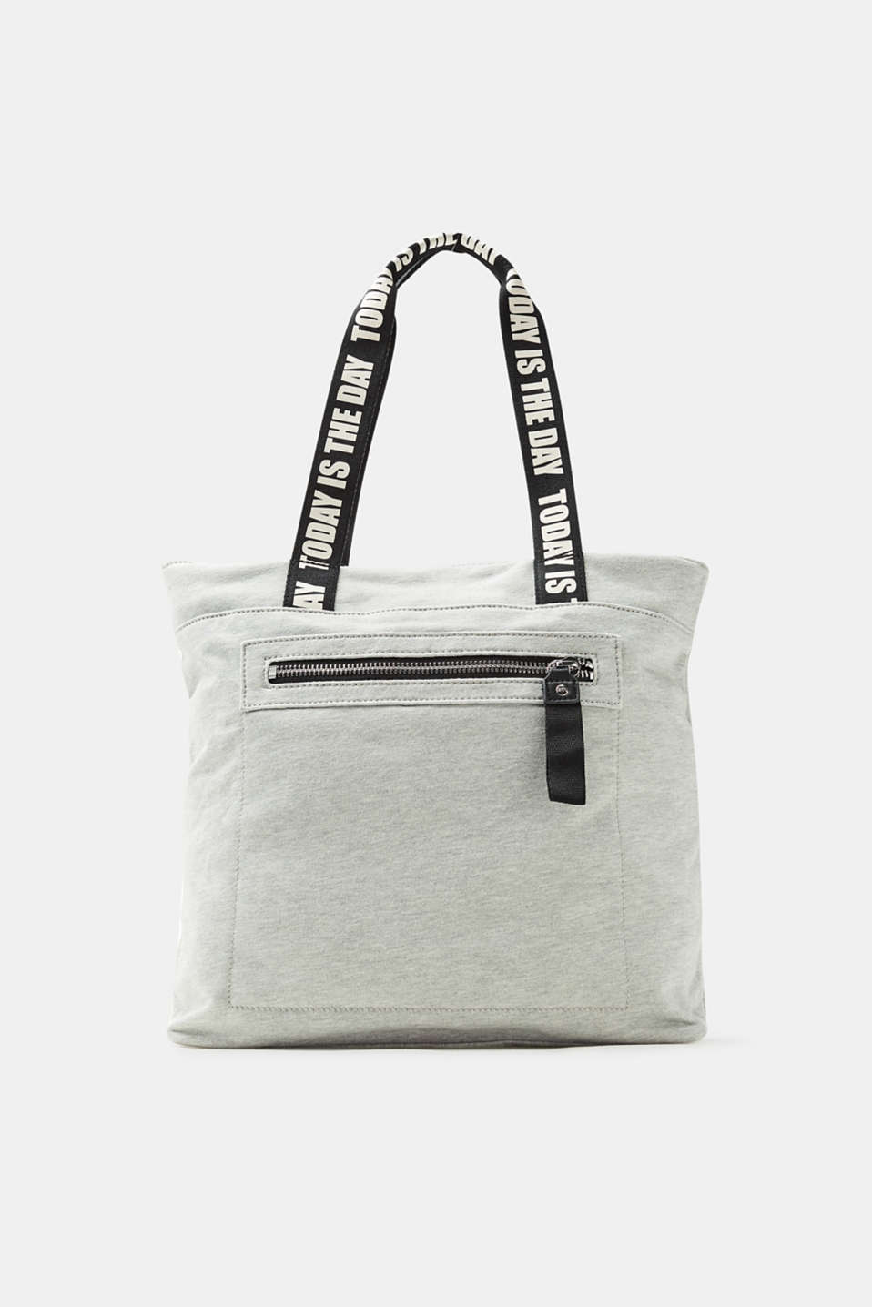 edc - Sweat-Tasche mit Statement-Print
