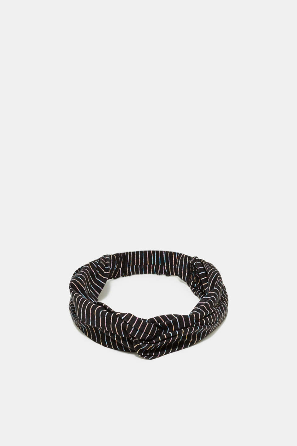 edc - Headband with shimmering stripes