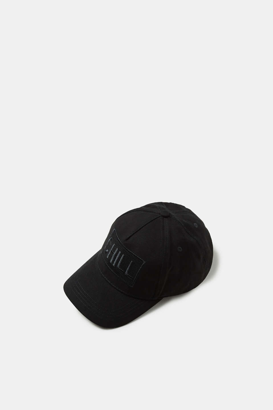 edc - Baseball cap with statement, 100% cotton