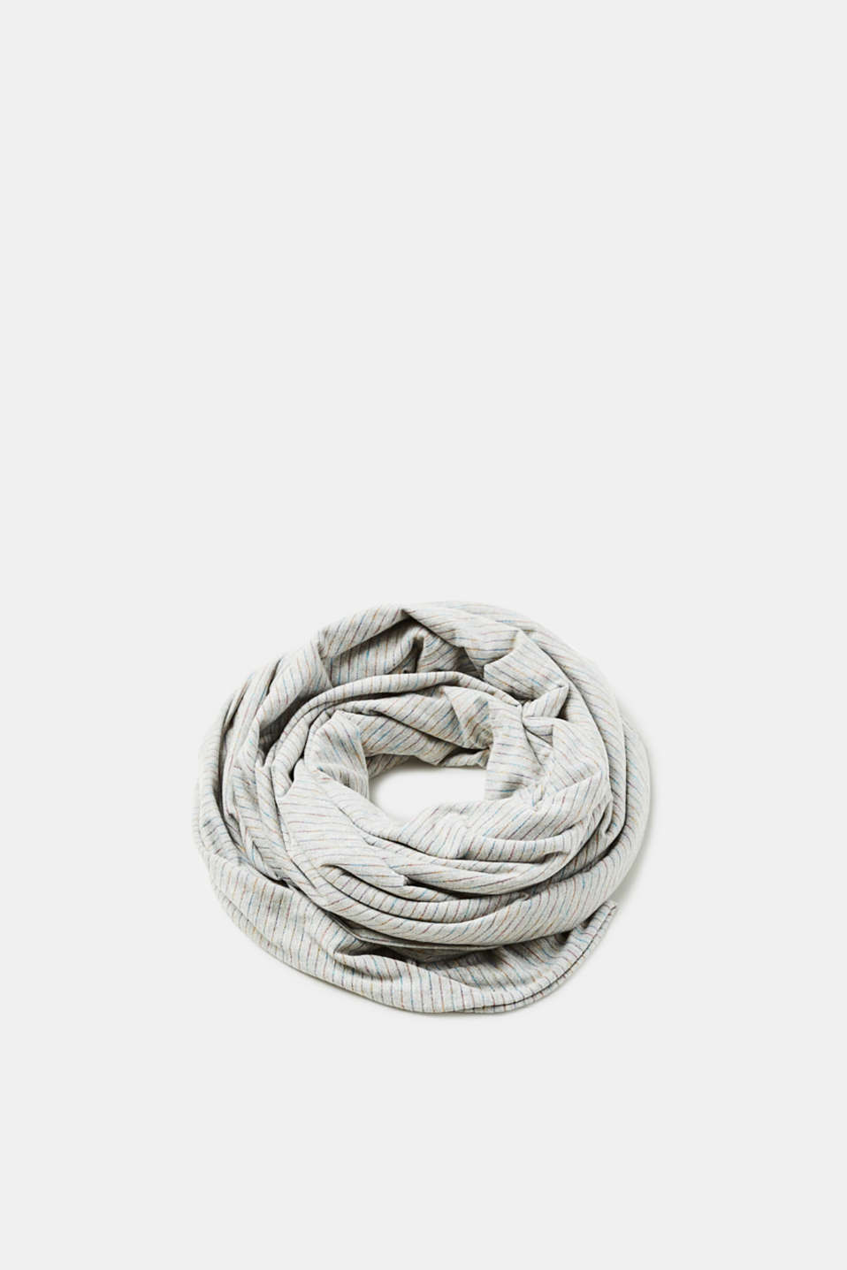 edc - Oversized scarf with shimmering stripes