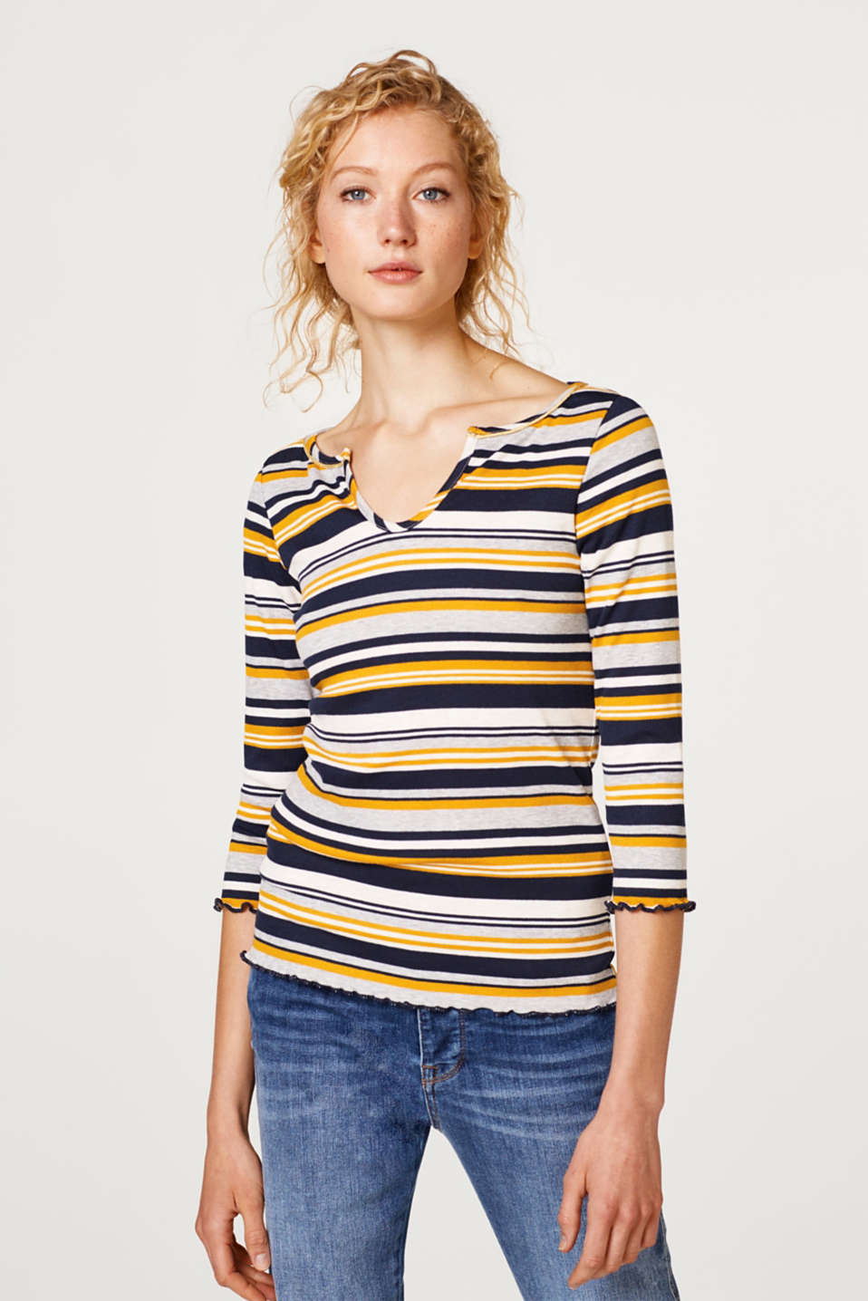 edc - Ribbed top with golden details