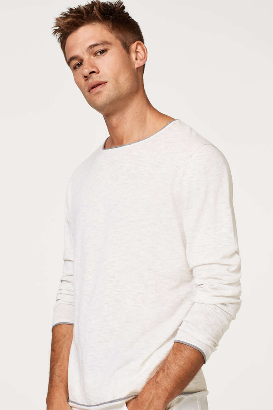 edc - Lightweight cotton jersey jumper