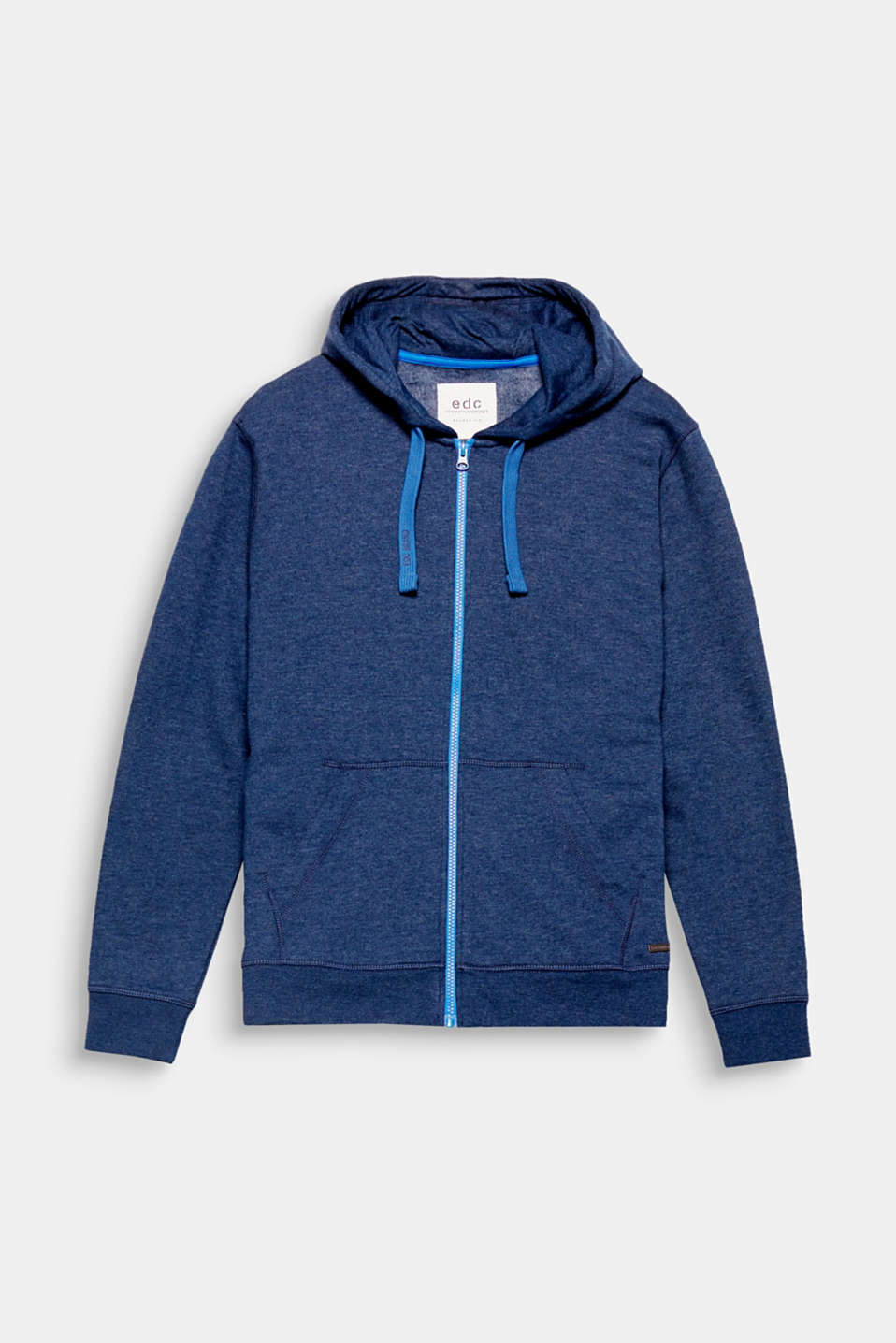 Vibrant accents give this hoodie an exciting look.