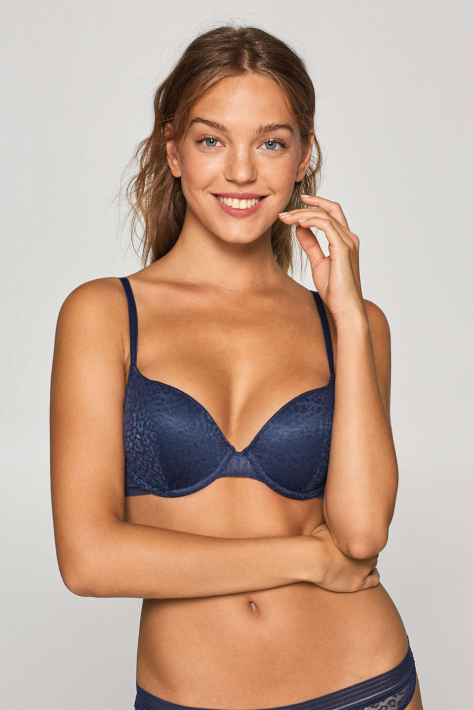 edc - Padded underwire bra with variable straps