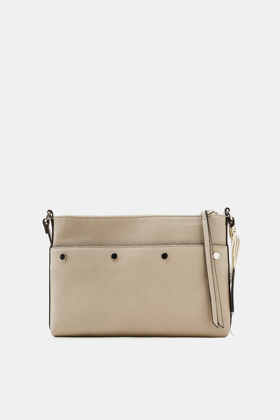 Esprit - Shoulder bag with decorative studs, in faux leather