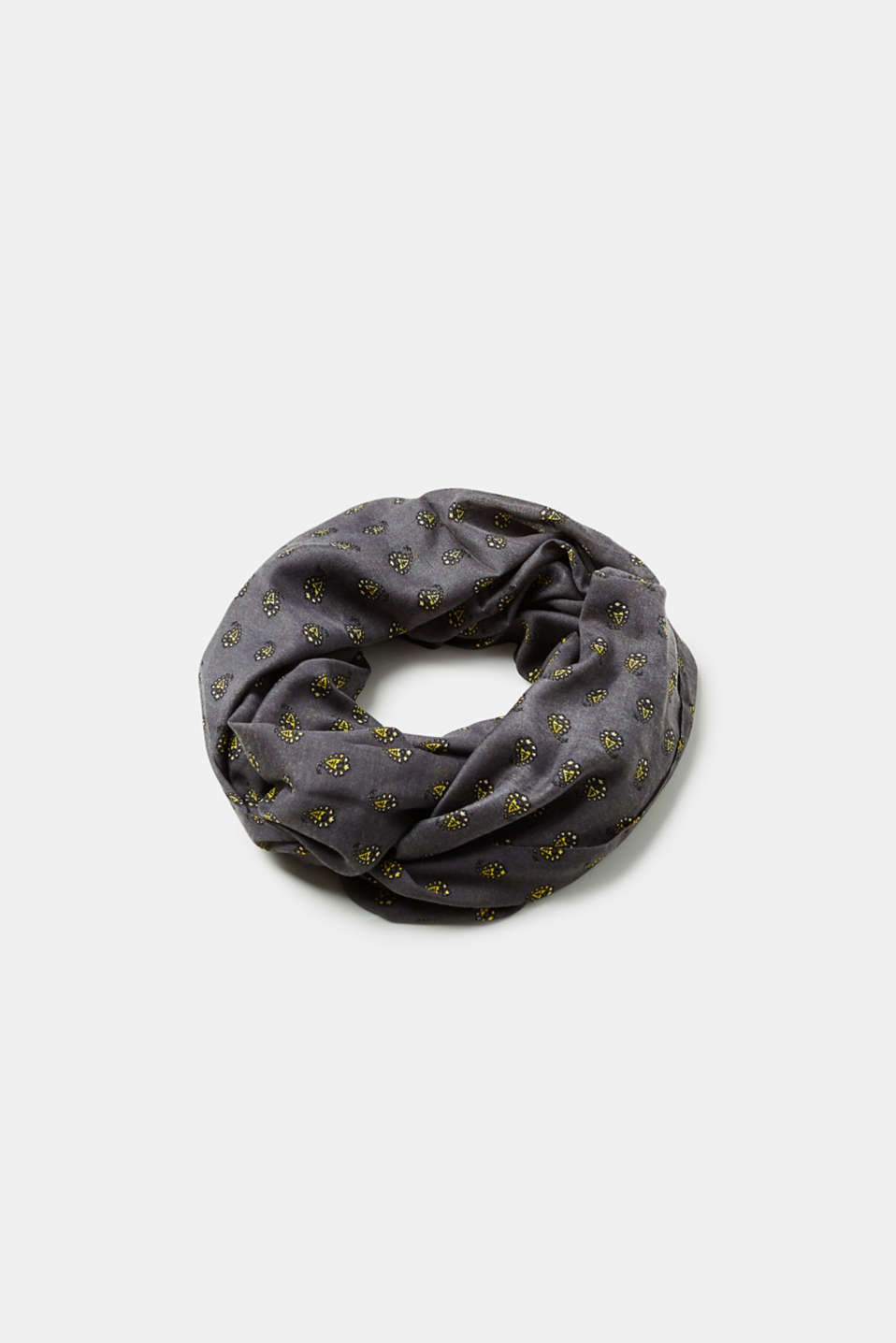 Esprit - Woven snood with all-over print