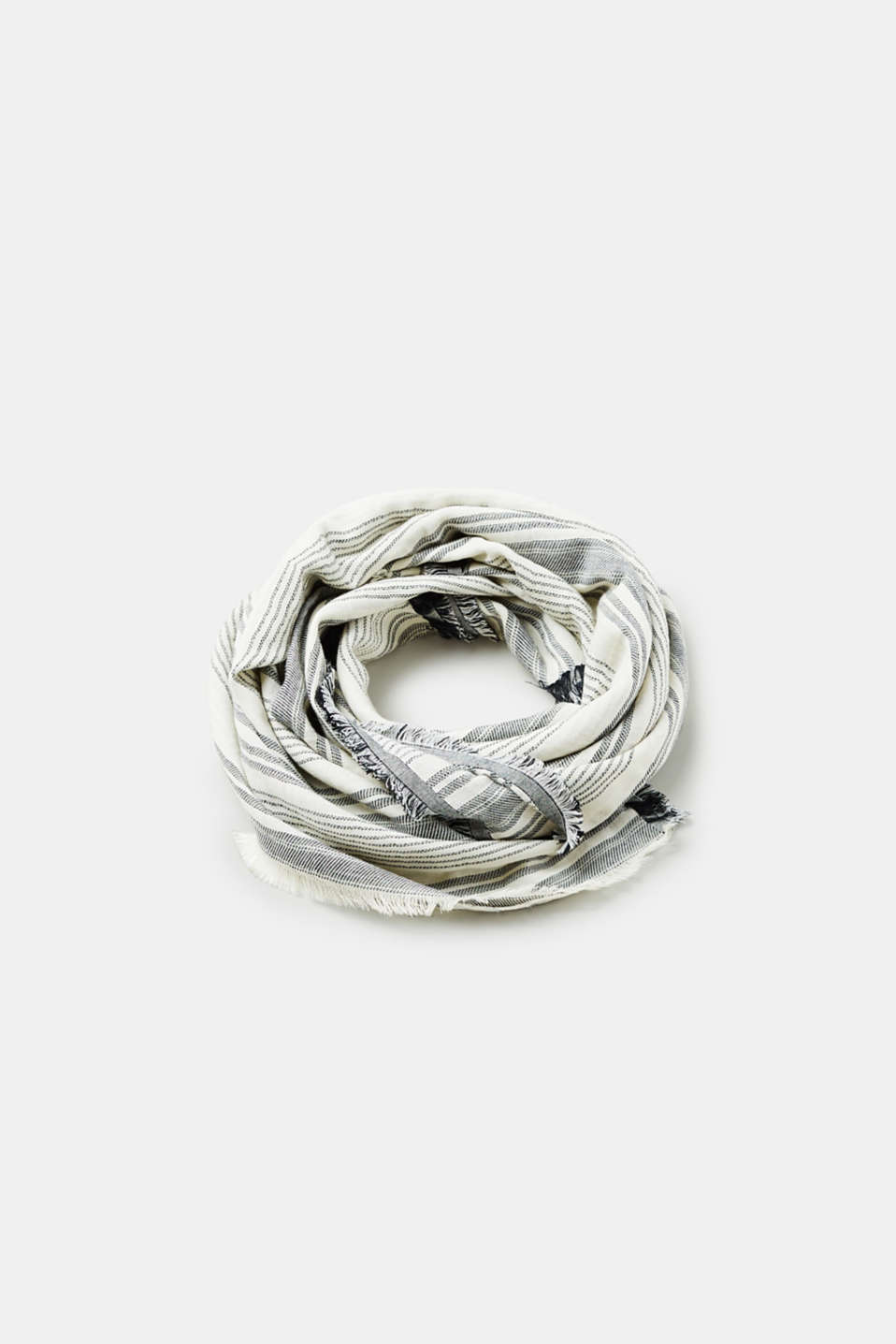 Esprit - Woven scarf made of 100% cotton