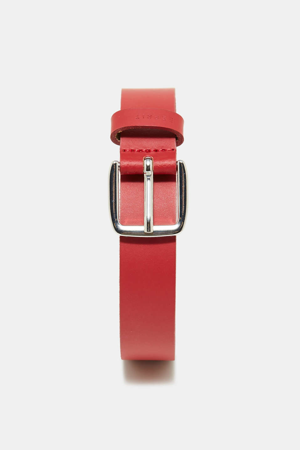 Esprit - Belt in trend colours, in leather