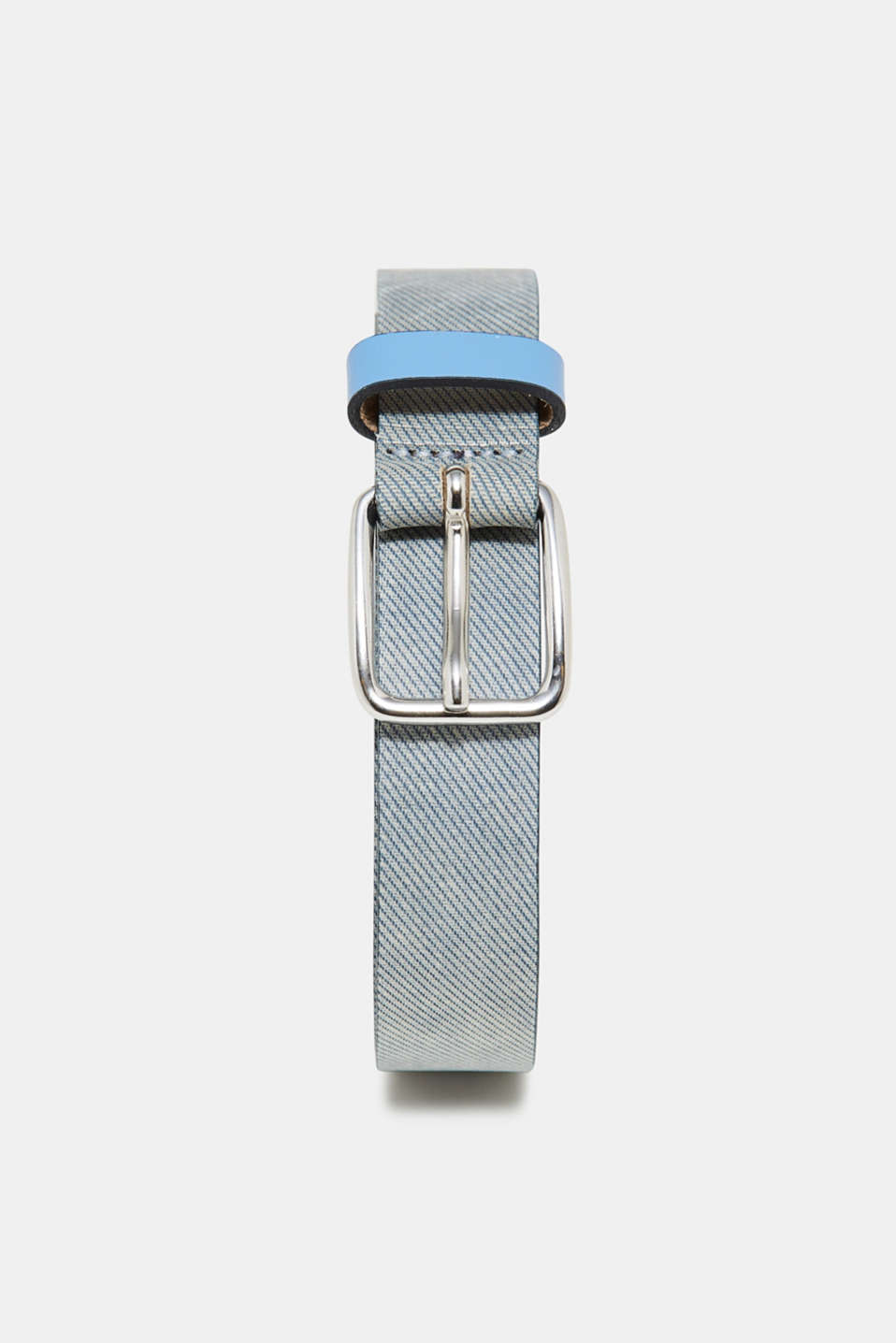 Esprit - Textured leather belt