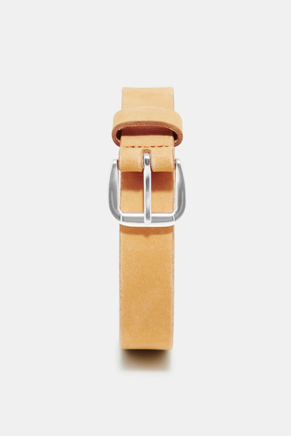 We love ESPRIT! The logo embossing makes this suede belt a statement piece.