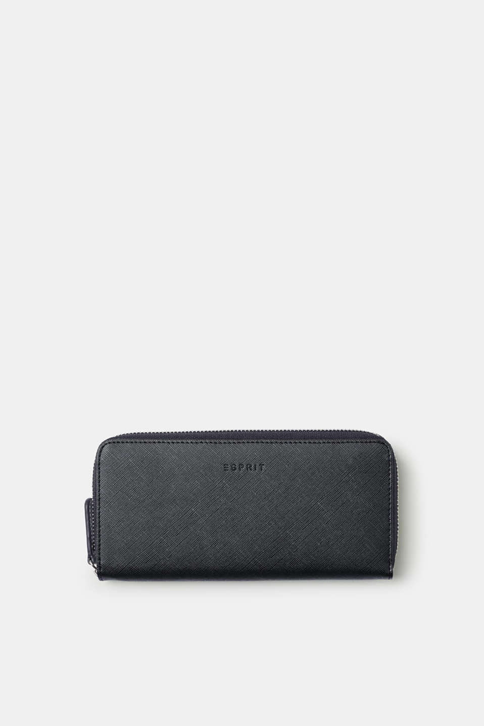 Esprit - Textured faux leather wallet