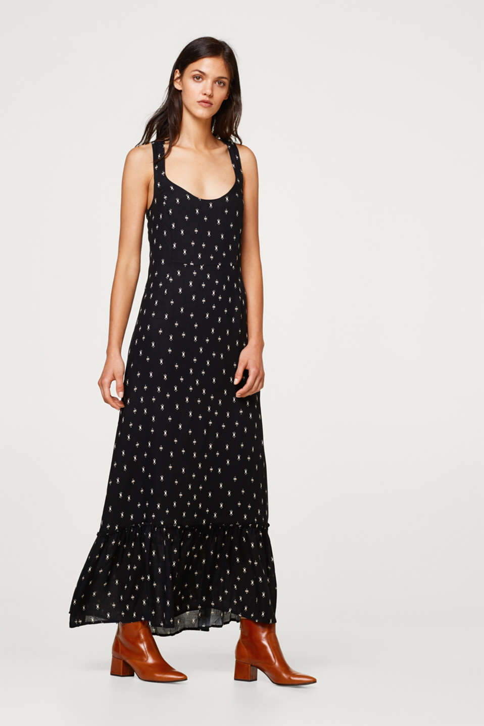 Esprit - Maxi dress with print