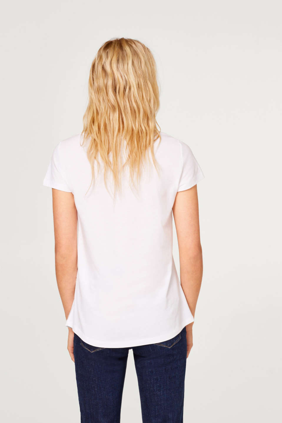 In a pack of two: round neck T-shirts