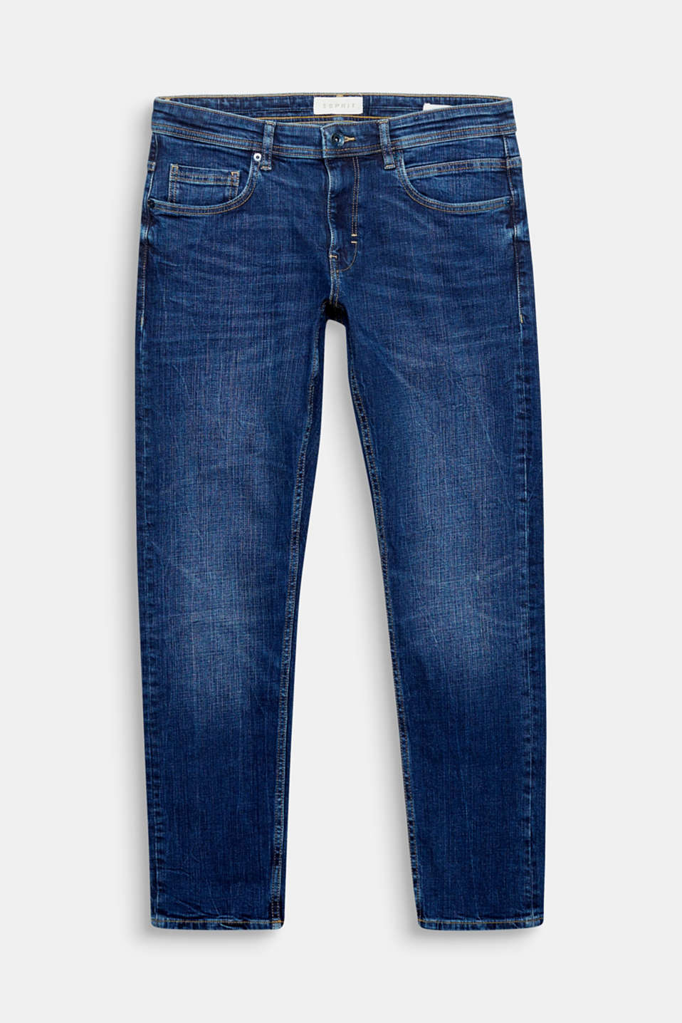 Wear these cropped 7/8-length jeans in a five-pocket design either rolled up or with a little turn-up for a trendy look.