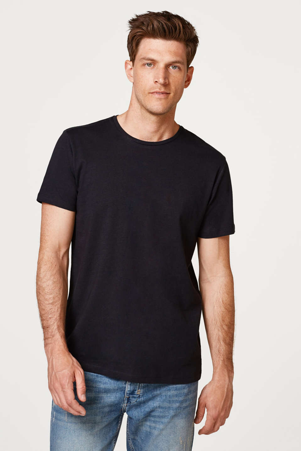 Esprit - Double pack of jersey T-shirts in 100% cotton