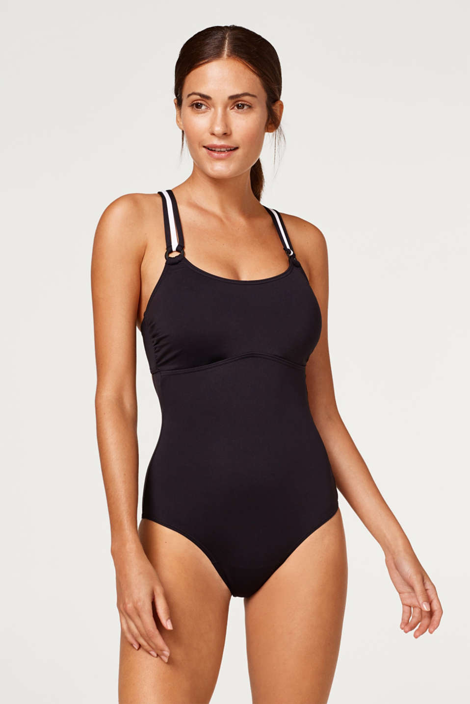 Esprit - Swimsuit with triple shoulder straps