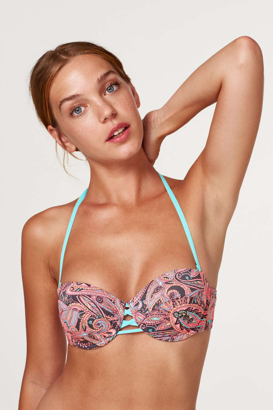 Esprit - Underwire bikini top with detachable straps