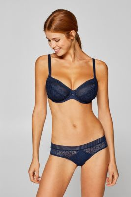 1702d75fac Esprit - Unpadded underwire bra for larger cup sizes at our Online Shop