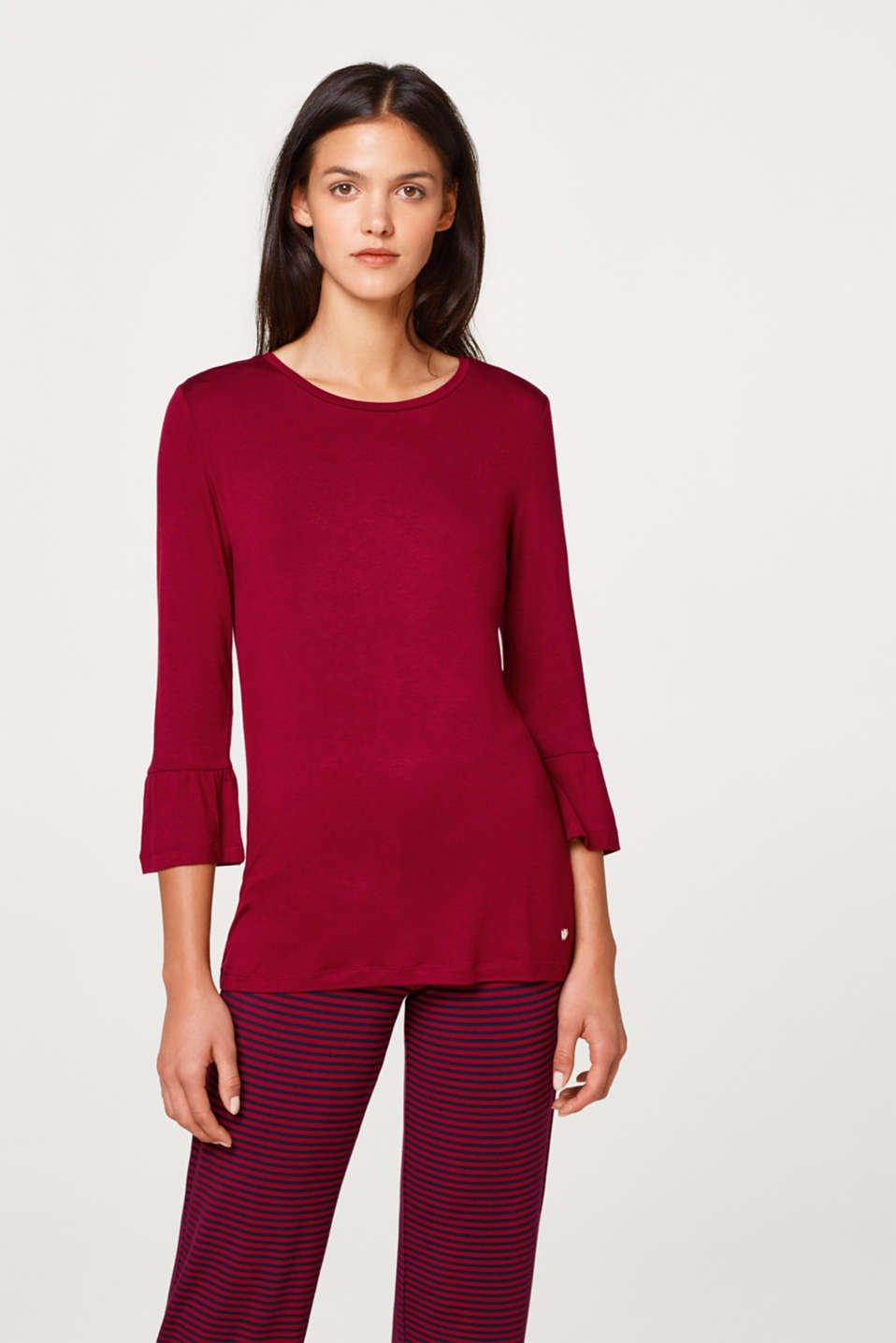 Comfy and stretchy jersey T-shirt