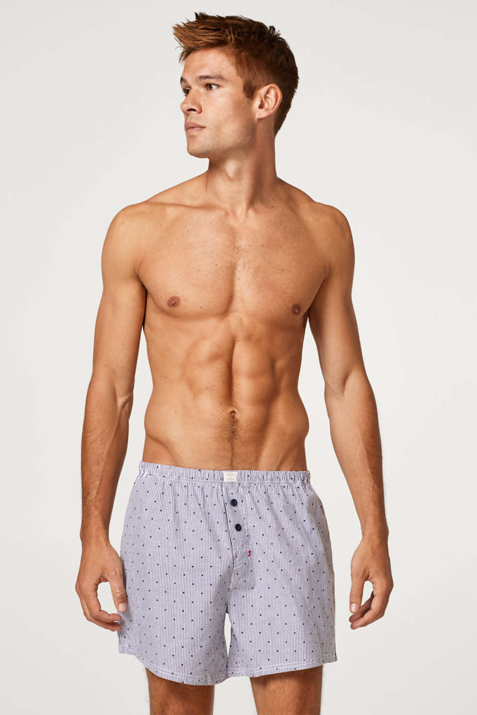 Esprit - Shorts in a double pack, 100% cotton