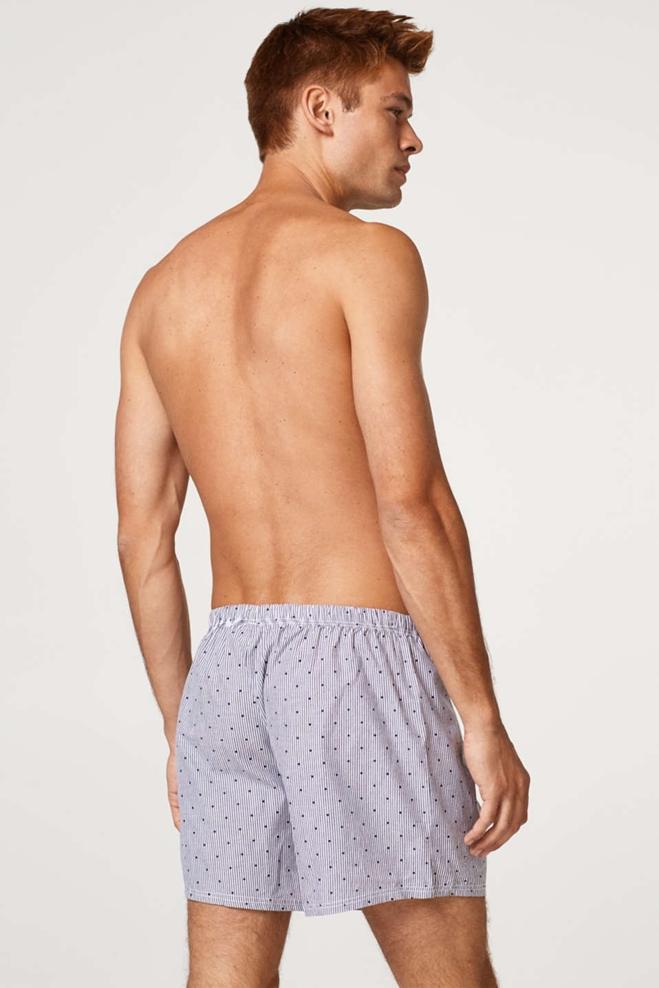 Shorts in a double pack, 100% cotton