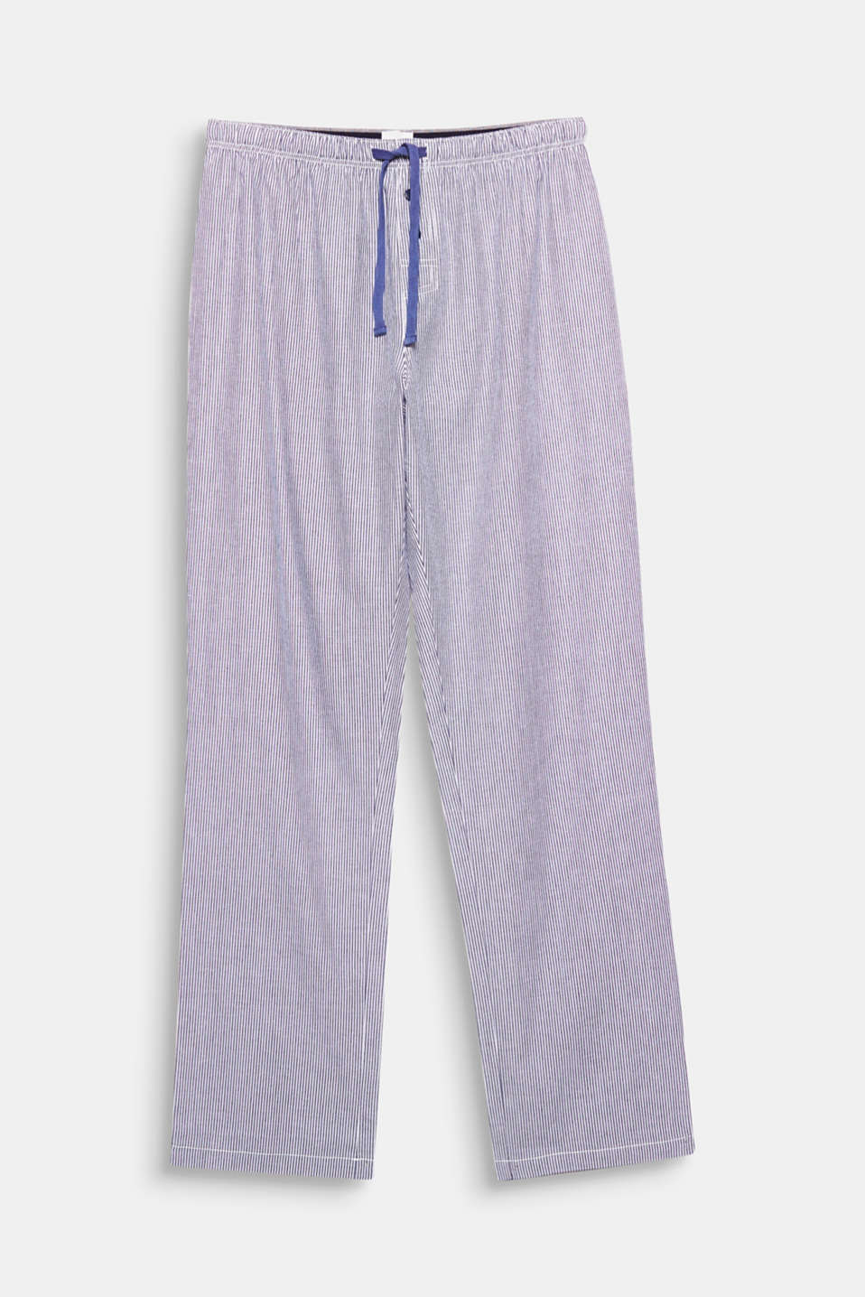 These woven bottom in pure cotton with a fine striped pattern are casual and comfy!