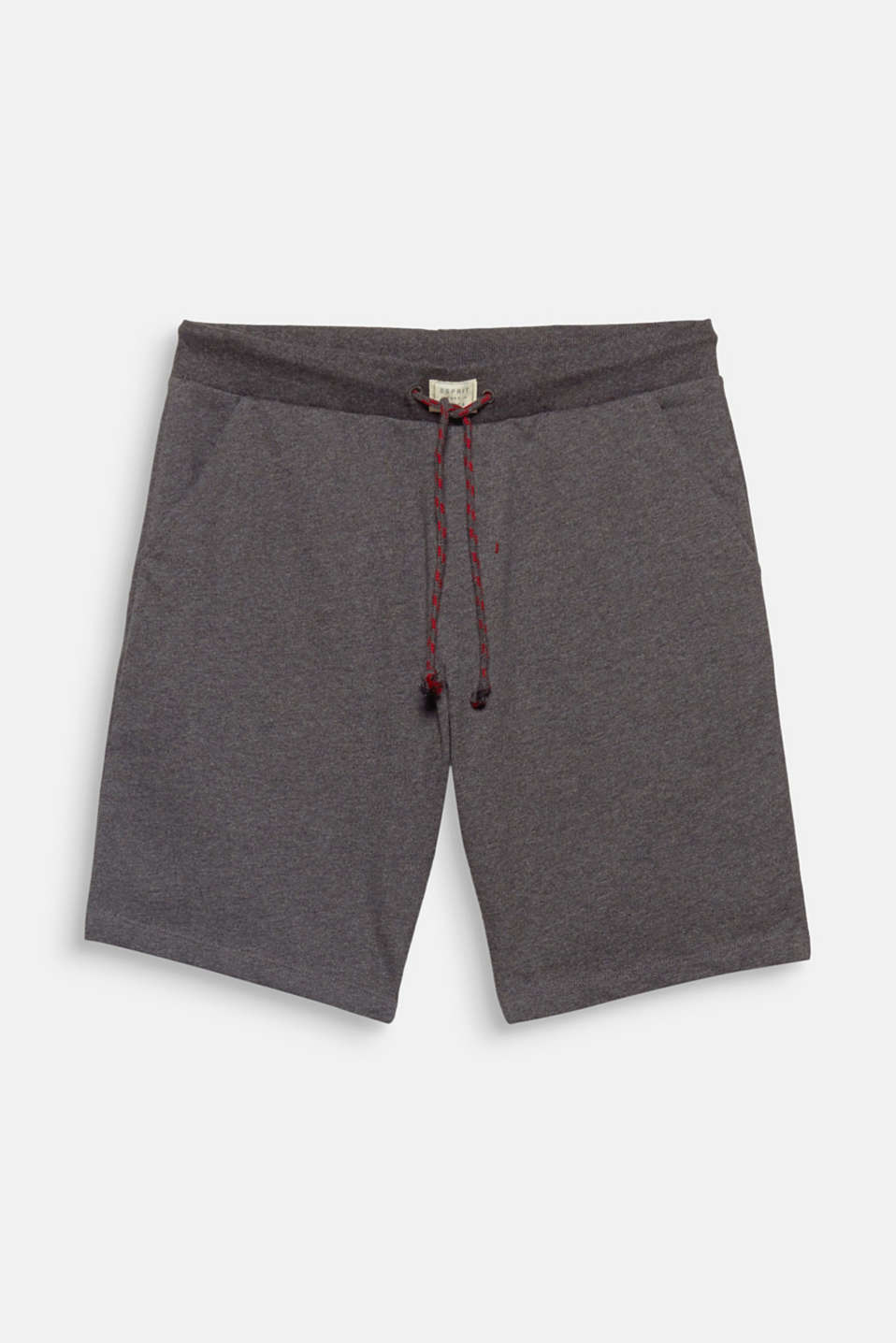 Laid-back feeling, relaxed style! These melange bottoms stand out due to their soft sweatshirt fabric in blended cotton.