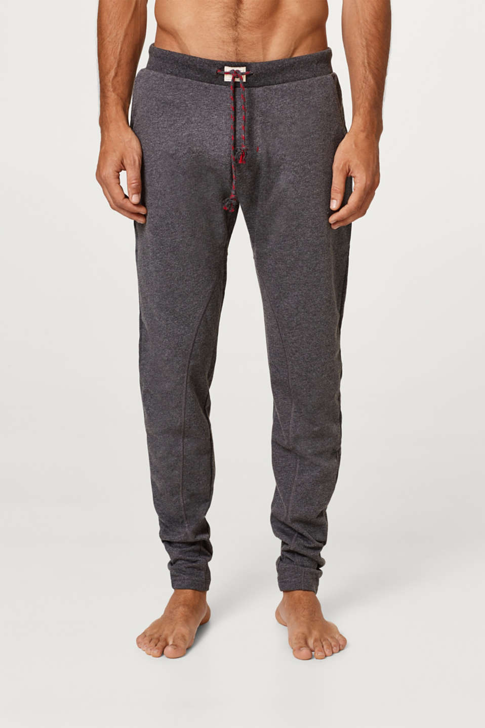 Blended cotton tracksuit bottoms