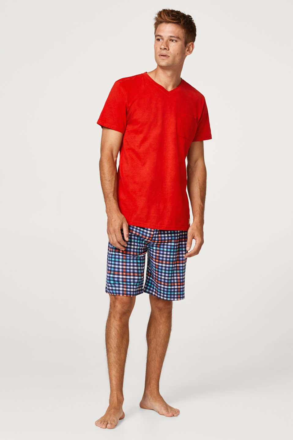 Esprit - T-shirt and Bermuda shorts, 100% cotton