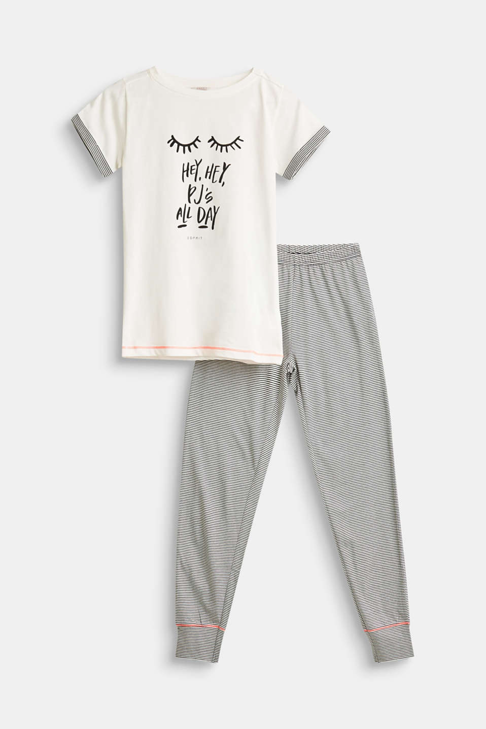Esprit - Statement pyjamas, 100% cotton