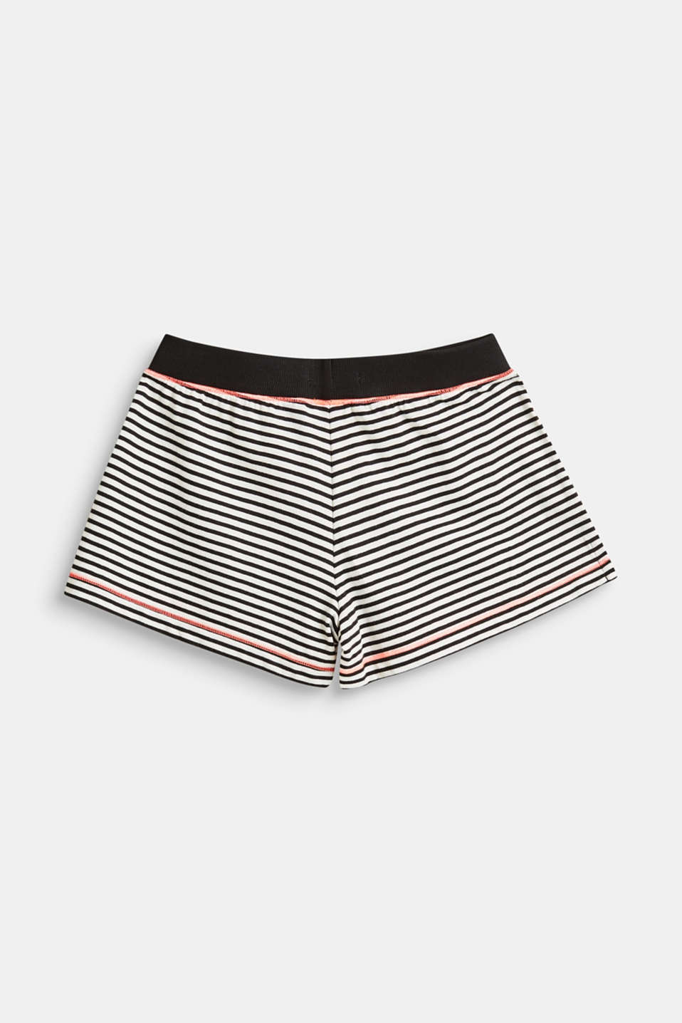 Striped pyjama shorts, 100% cotton