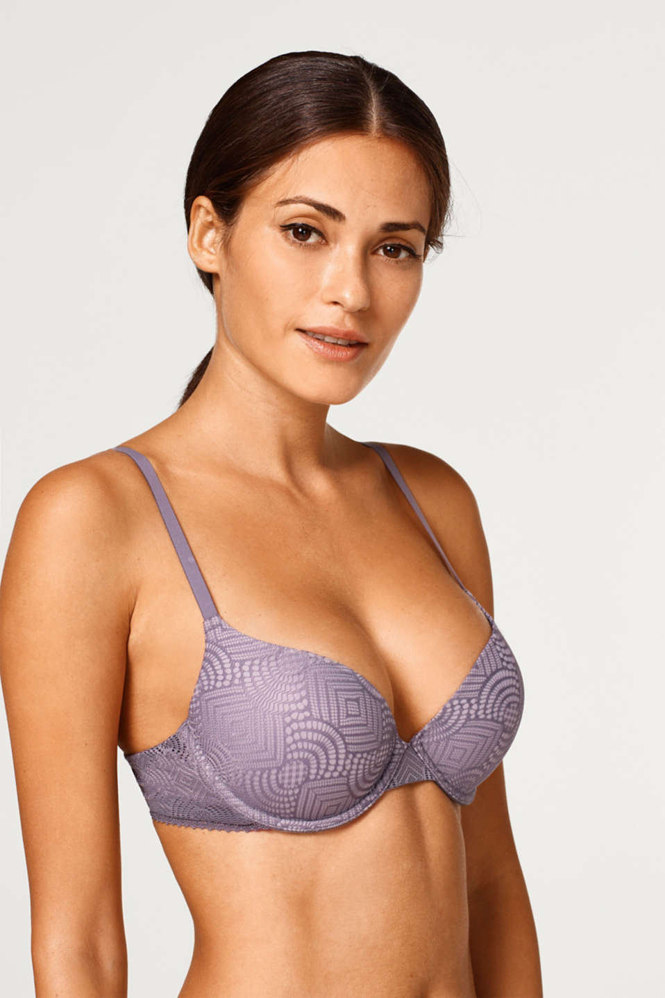Esprit - NYE push-up bra in a lace look