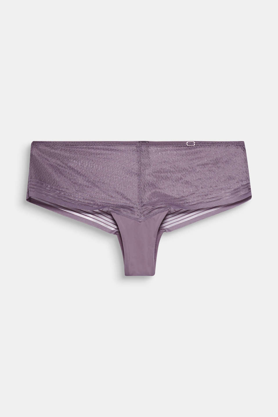 8TH AVENUE collection - delicate, geometric mesh gives these sexy Brazilian hipster shorts their light and elegant look!