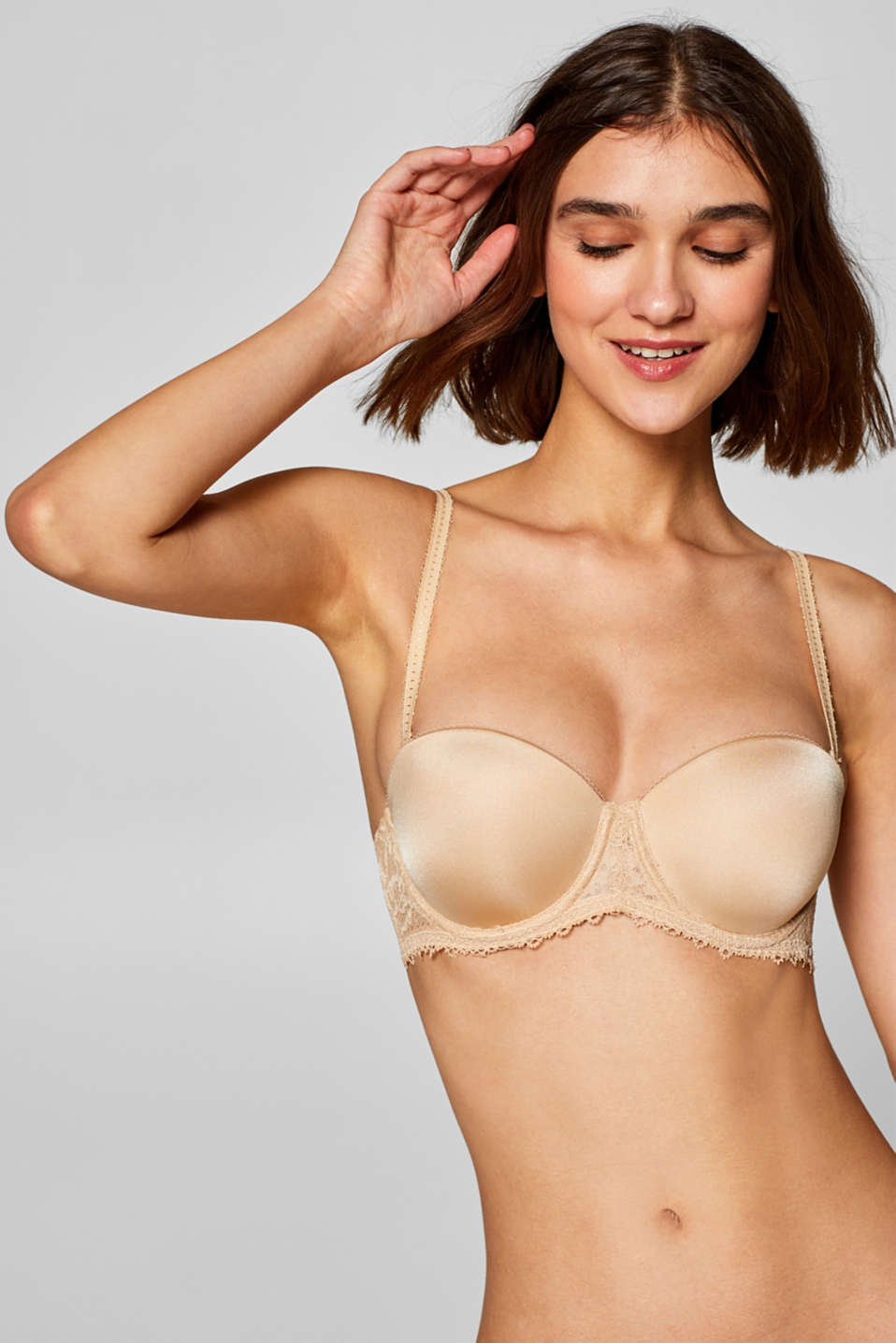 Esprit - NYE padded bra with detachable straps