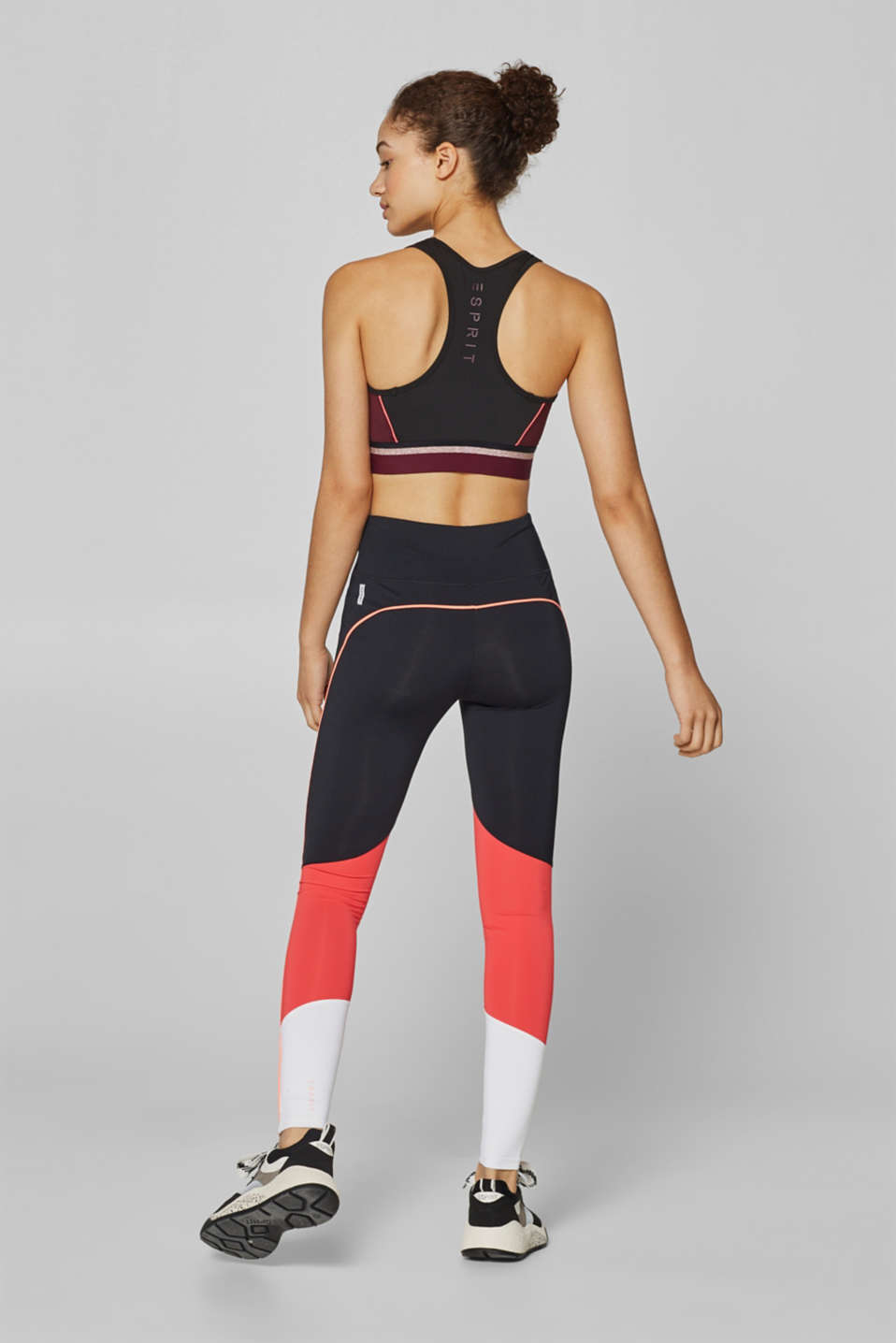 Legging de sport colour blocking, E-DRY