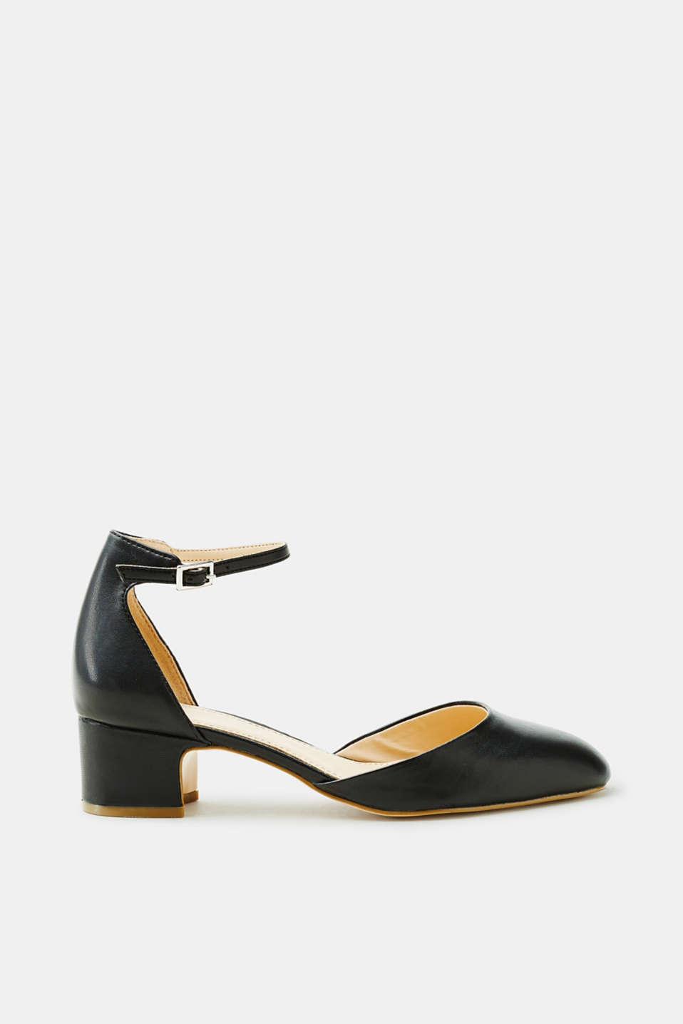 Esprit - Court shoes with a block heel and an ankle strap