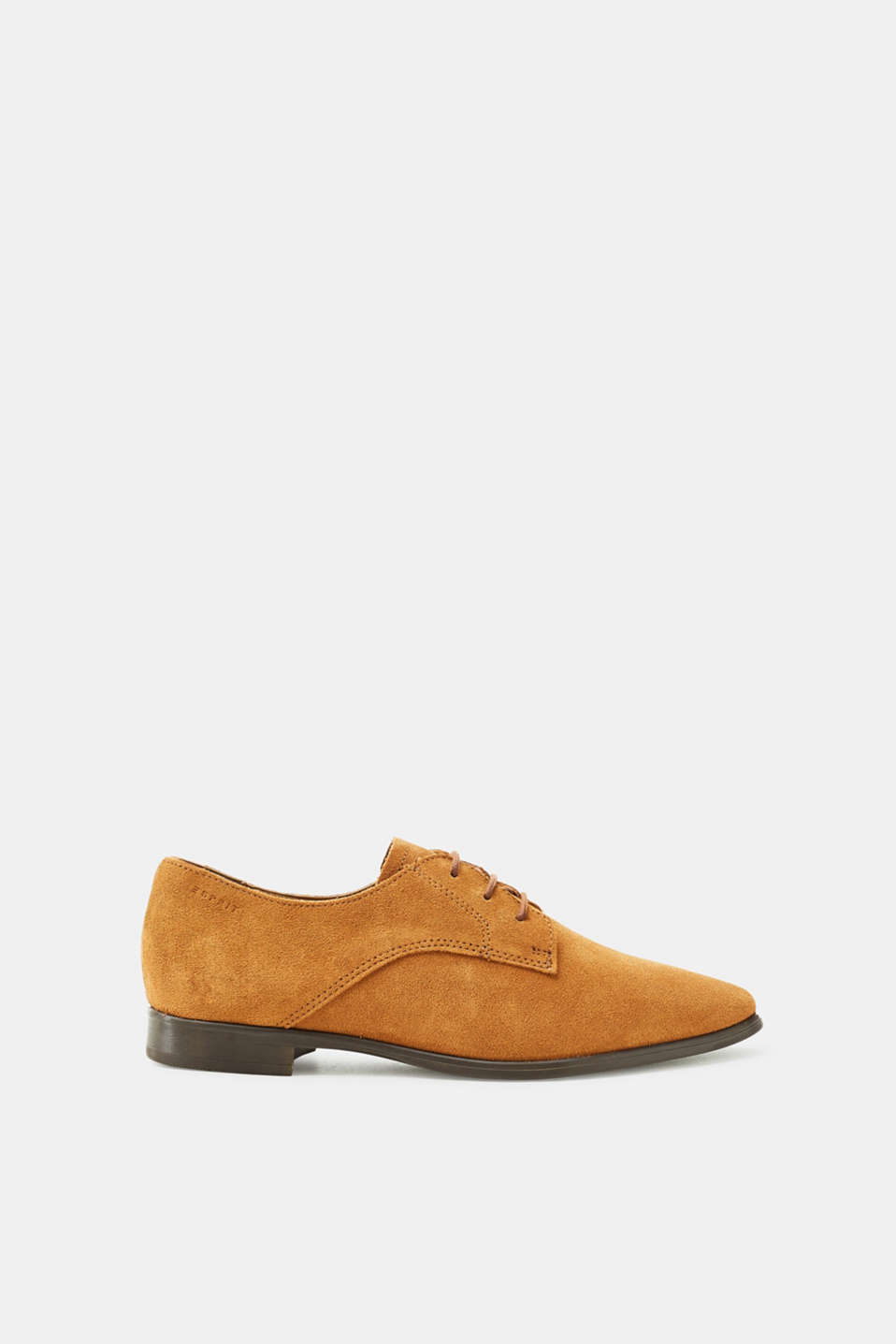Esprit - Lace-up shoe made of suede