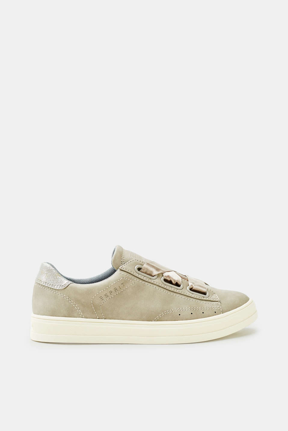 Esprit - Trendy trainers with satin laces