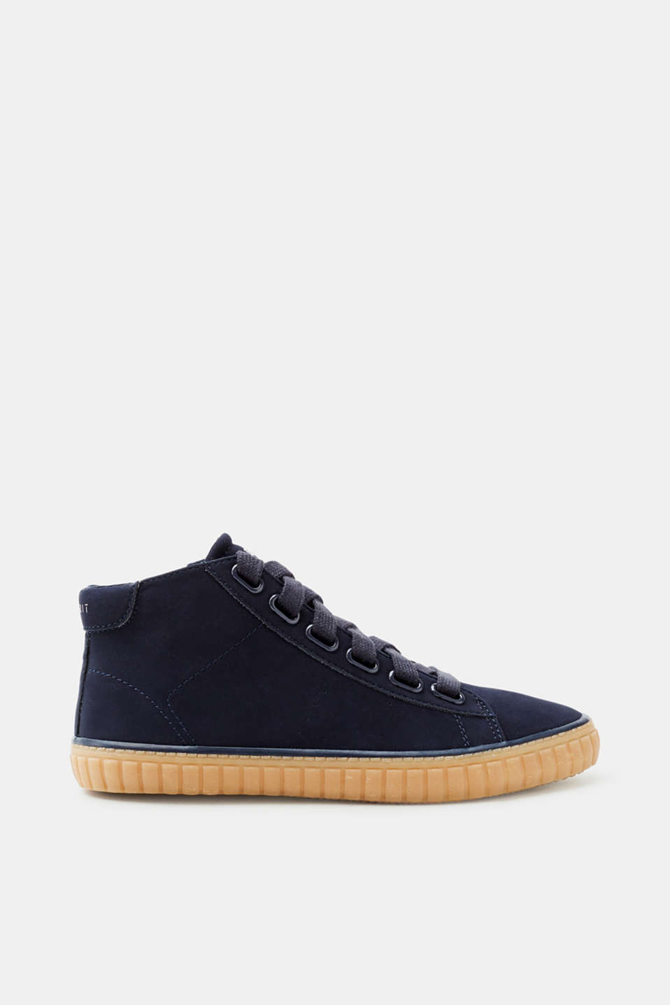 Esprit - Suede high-top trainers