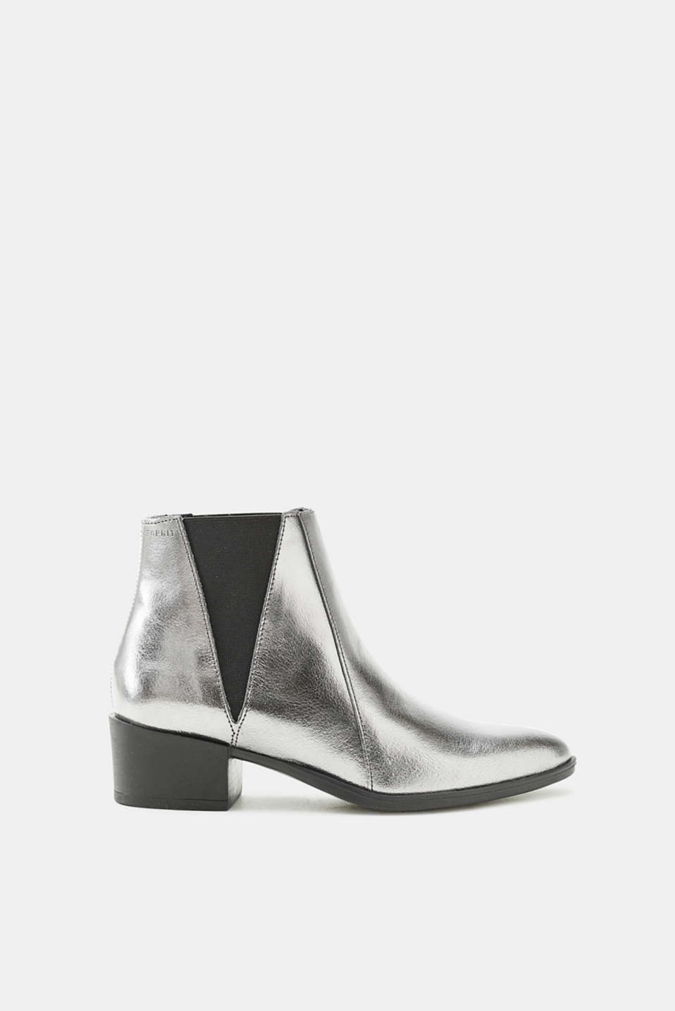 Esprit - Chelsea boots with a block heel