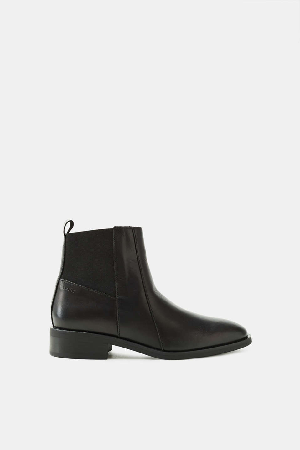 Esprit - Chelsea boot made of leather