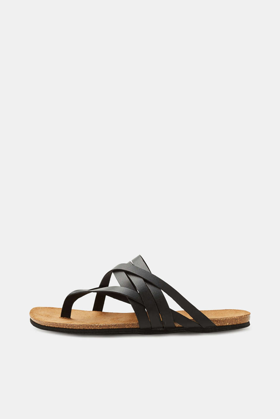 Esprit - Leather toe-post