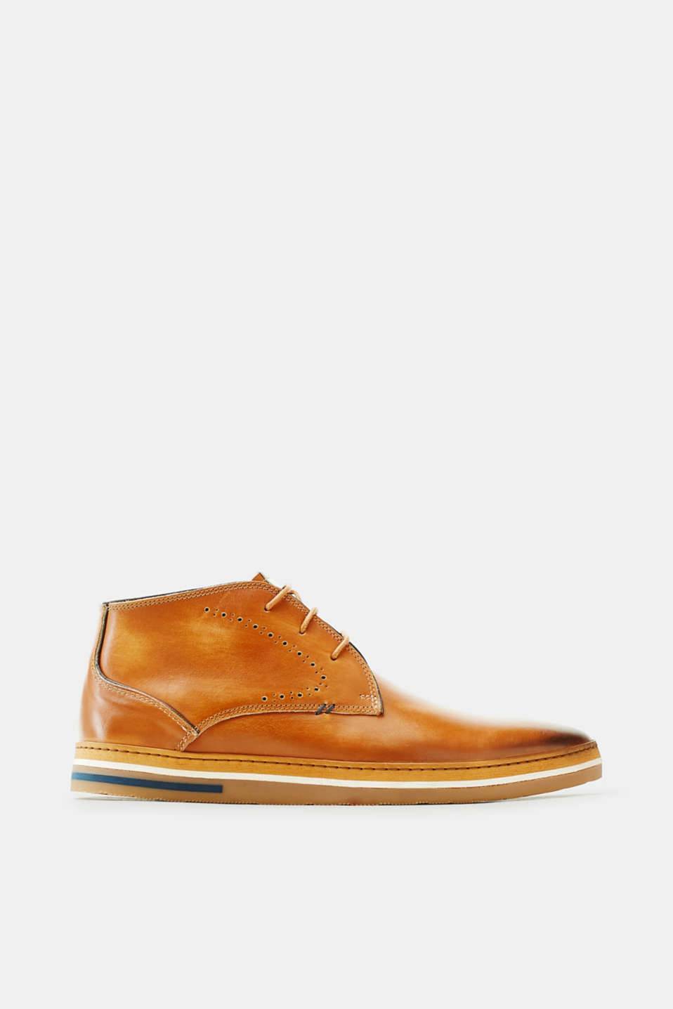 Esprit - Leather desert boot