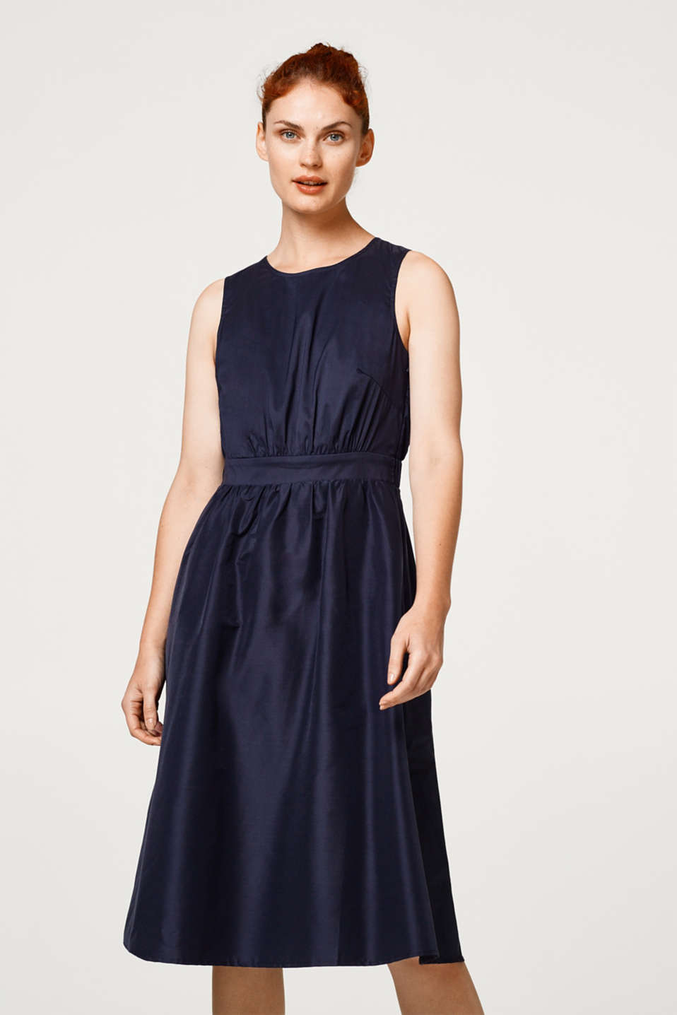 Esprit - SMART SHINE mix + match dress with a lace back
