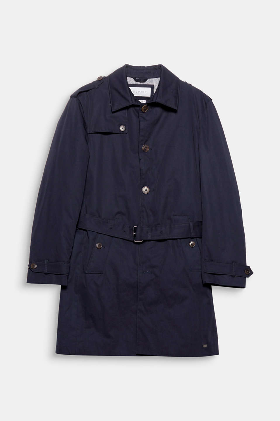 A classic that no wardrobe should be without: the trench coat This model features warm Thinsulate padding.